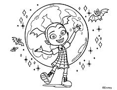 Vampirina World Coloring Page.png