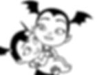 Vampirina and Baby Nosy Coloring Page.pn