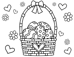 Easter Basket with Hearts and Flowers.pn