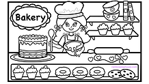 bakery girl coloring page.001.png
