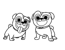 Free Printable Puppy Dog Pals Disney Junior Coloring Pages