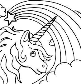 Unicorn coloring page.png