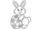 Easter Bunny with Flower Egg.png