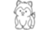 Husky Pup Coloring Page.001.png