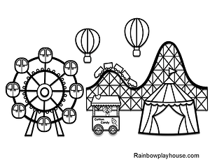 Amusement Park Coloring Page.png