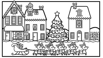 Christmas Village Printable.001.png