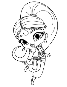 Shimmer and Shine Coloring Page 2.png