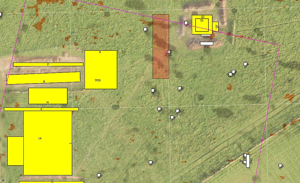 Colemore site plan