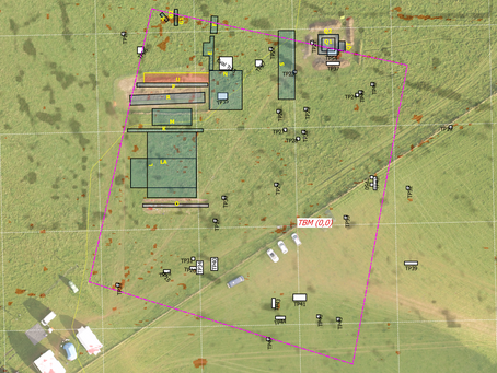 The area of focus of CM917