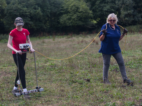 Our annual dig at Stroud