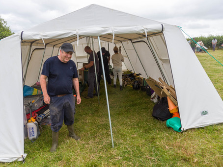 The start of the Stroud Big Dig 2019