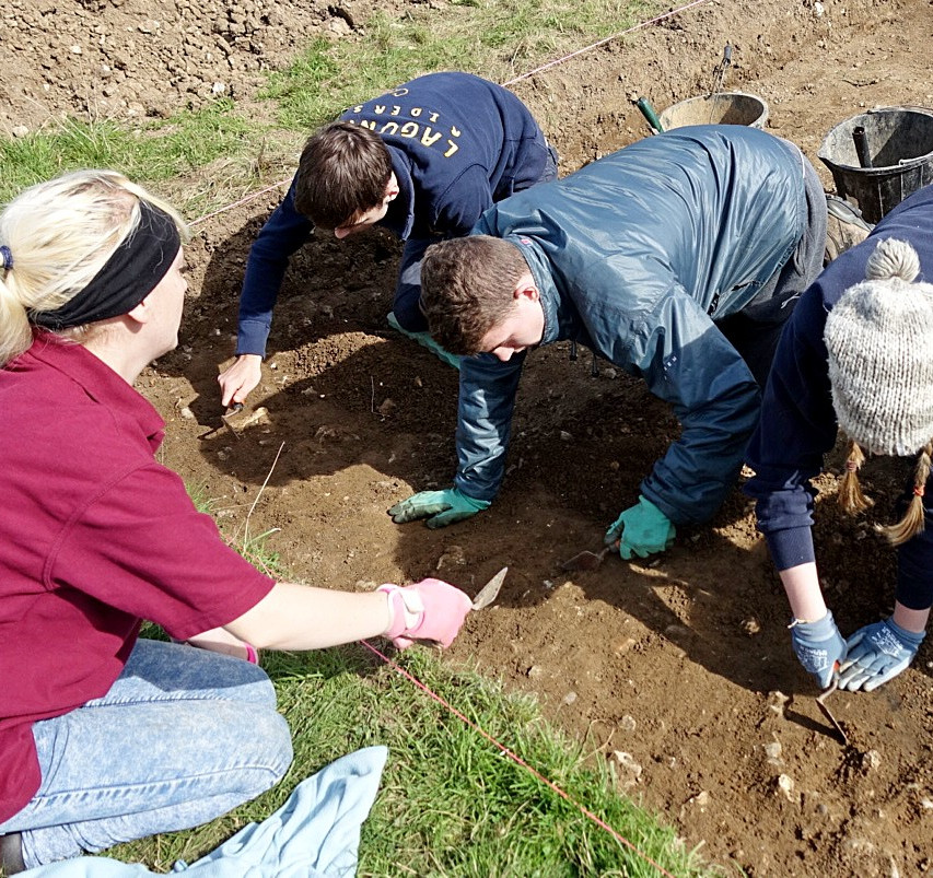 Day 1 of CM917, our autumn excavation at Colemore