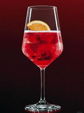 spritz drink in a glass