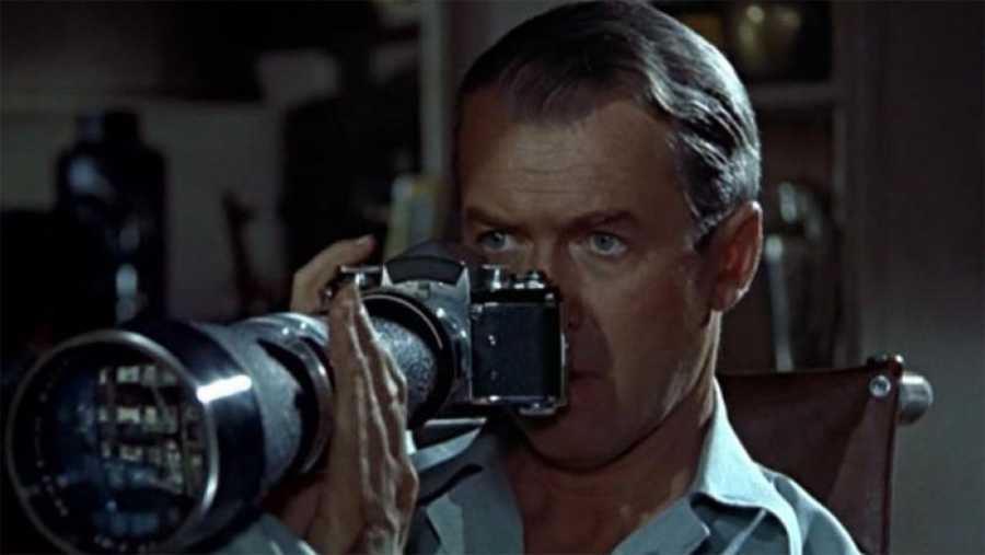 Rear Window View movie still - Alfred Hitchcock