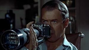 Rear Window View movie still - Alfred Hitchcock