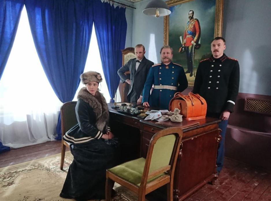 Mysteries of Mrs. Kirsanova TV series (2018)