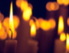 свет свечей