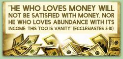 The Love of Money