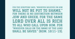 Whoever Calls Upon the Lord