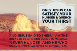 Only Jesus Can Satisfy