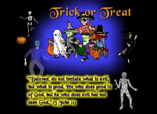 Halloween: Kid's Treat or Pagan Trick?