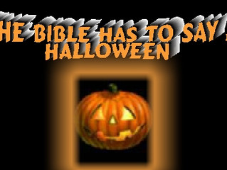 What the Bible Has to Say About Halloween