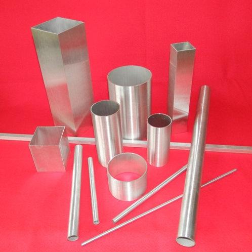150-080: ALI TUBE 80mm x 2.0# x 1m long