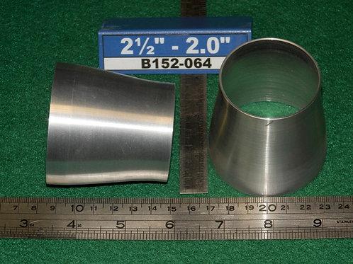 152-064: REDUCER 2 1/2 inch - 2.0 inch