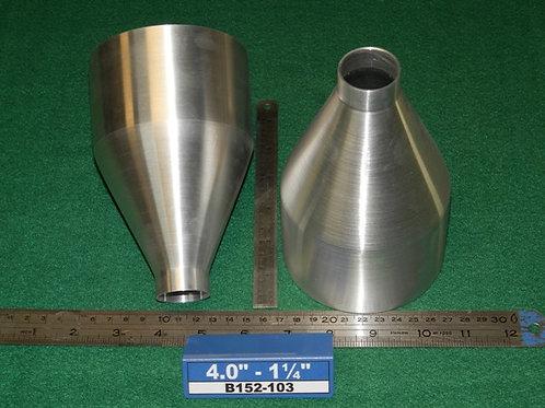 152-103: REDUCER 4.0 inch - 1 1/4 inch