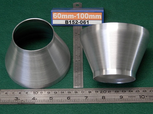 152-061: REDUCER 60mm - 100mm (2.0# ALI)