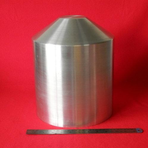 "157-256: OIL TANK 250mm x 300mm Deep - Cone End 3"" Flat"