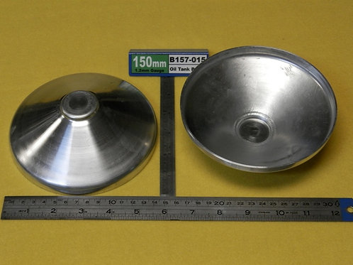 157-016:  BAFFLE 150mm x 1.6mm ALI (tighter Fit)