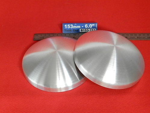 153-153: TANK ENDS 6.0 inch OD