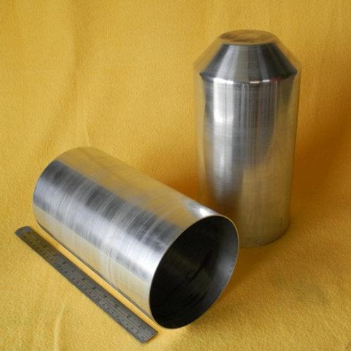 157-153: OIL TANK 150mm x 300mm Deep ( $ litre -2.0# ALI Cone End