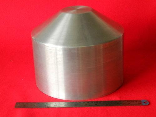 "157-254: OIL TANK 250mm x 200mm Deep - cone end 3"" Flat"