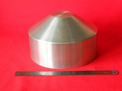 "157-253: OIL TANK 250mm x 150mm Deep - Cone End 3 "" Flat"
