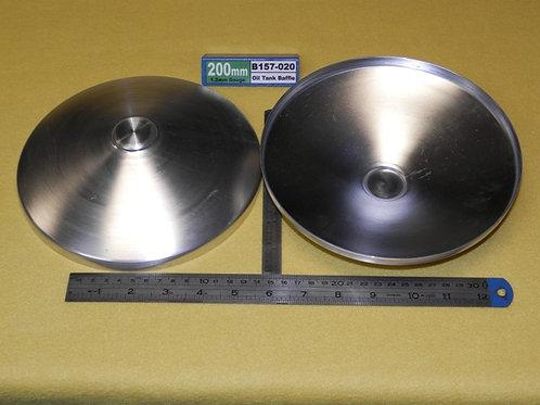 157-020:  BAFFLE 200mm x 1.2mm ALI