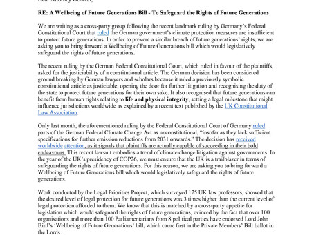 Rights of Future Generations