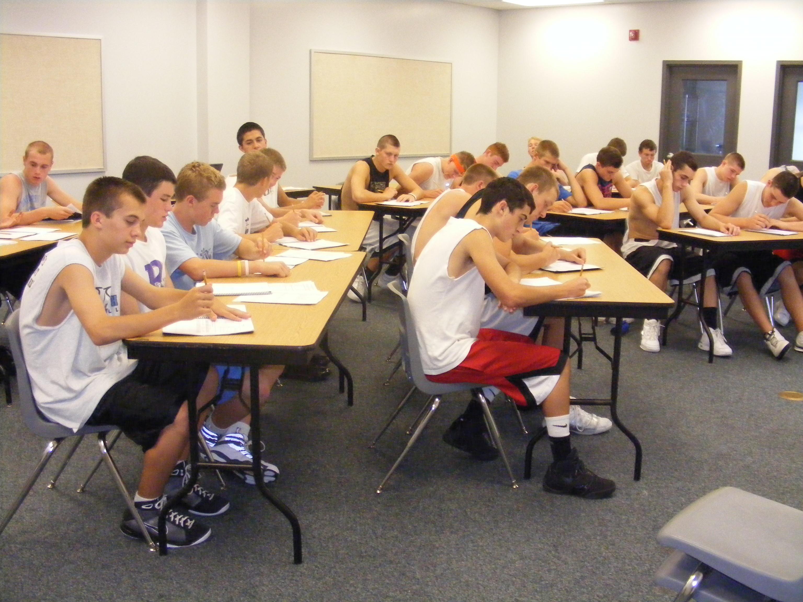 classroom session 2