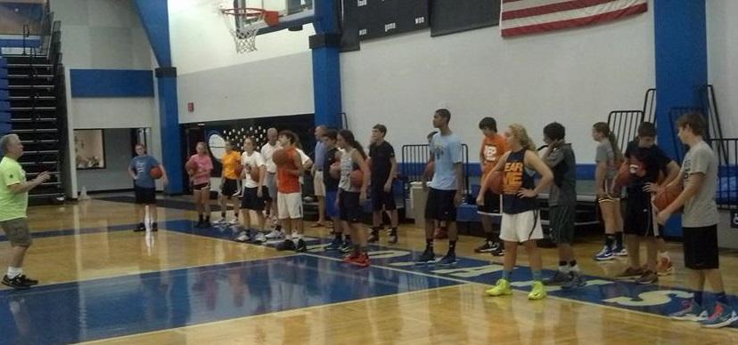 between ball handling drills
