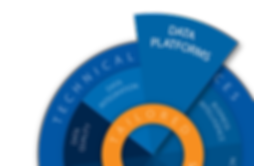Data Blue Print Info Graphic Data PLATFO