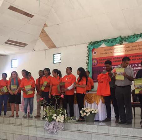 Campaign Against Gender Violence in Timor-Leste!