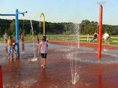Commissioners Splash Park