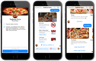 Digital Diner Empowers Meal Ordering And More Through Facebook Messenger