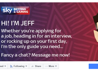 Sky Betting & Gaming Launches First Recruitment Chat Bot