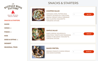 Digital Diner Announces First Online Ordering Implementation