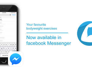 """How our MyWorkout bot became an """"overnight success"""" on Facebook Messenger"""