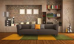 koberec pratelný žlutá zelená