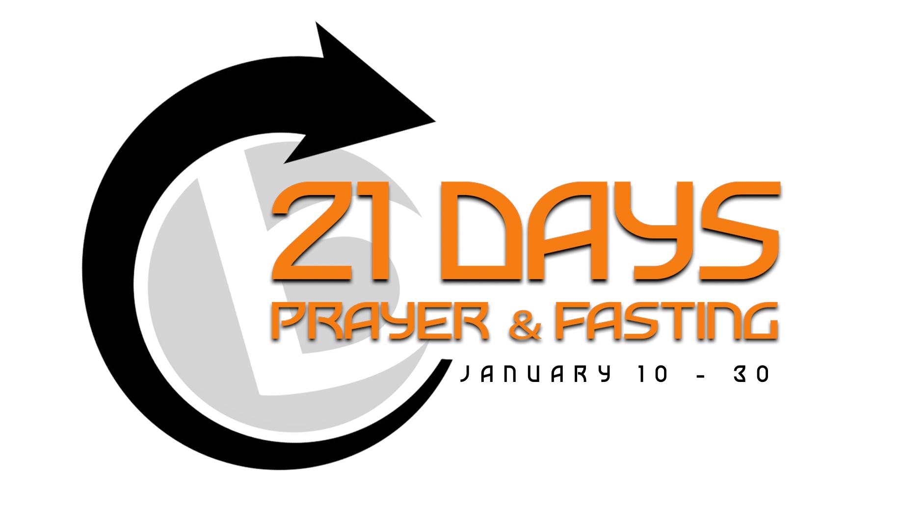 21 Days of Prayer & Fasting