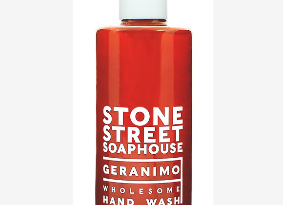 Stone Street Soaphouse - Geranimo - Wholesome Hand Wash - Weather and Palette